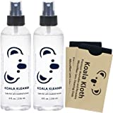Koala Kleaner Alcohol Free Eyeglass Lens Cleaner Spray Care Kit | Proudly USA Made | Ultra Gentle, Highly Effective, and 100% Safe for Cleaning All Lenses and Screens, 16oz + 2 Cloths