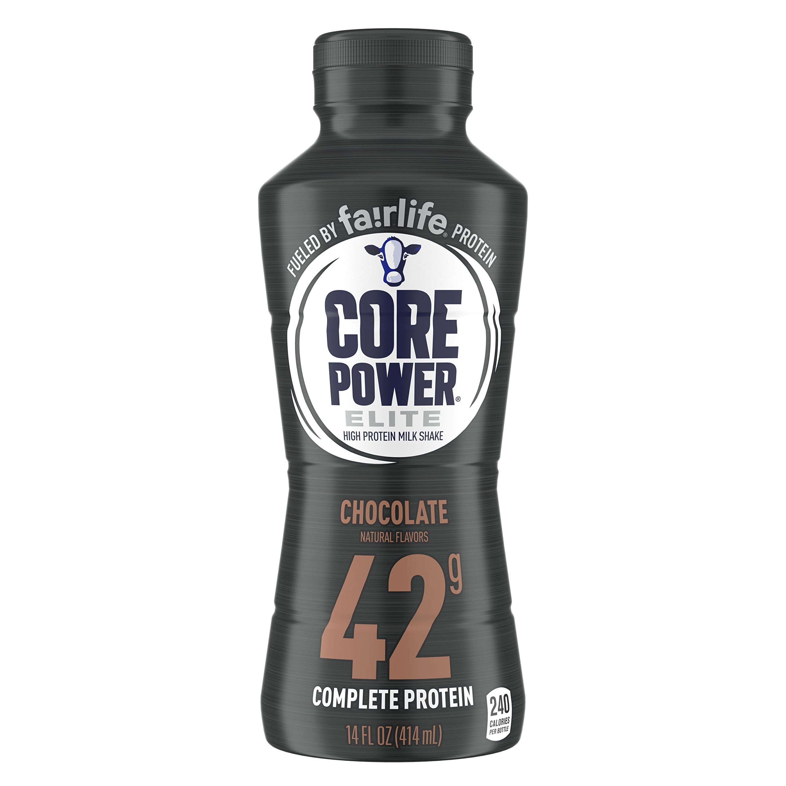 fairlife Core Power Elite High Protein (42g) Milk Shake, Chocolate, 14-ounce bottles 12 Count