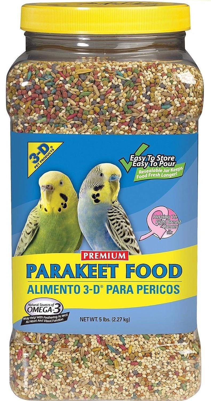 3D PARAKEET by 3-D Pet Products