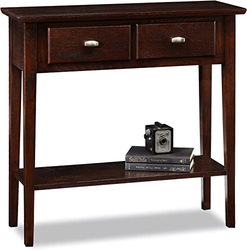Leick Furniture Favorite Finds Console Table, Medium Oak