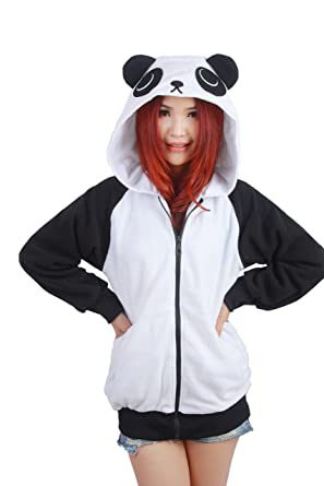 PALMFOX Hoodie Cartoon Jacket Zip Hooded Hoodies Sweatshirt Animal Cosplay Outfit Side Pockets Pyjama Costume QcCkZ