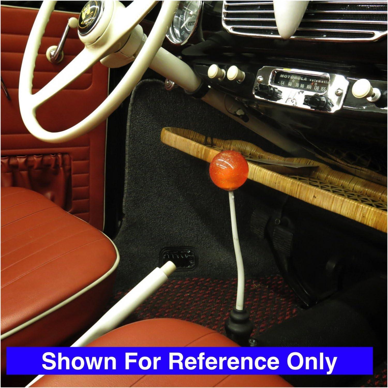 Blue Bat Solid Orange Metal Flake with M16 x 1.5 Insert American Shifter 302968 Shift Knob