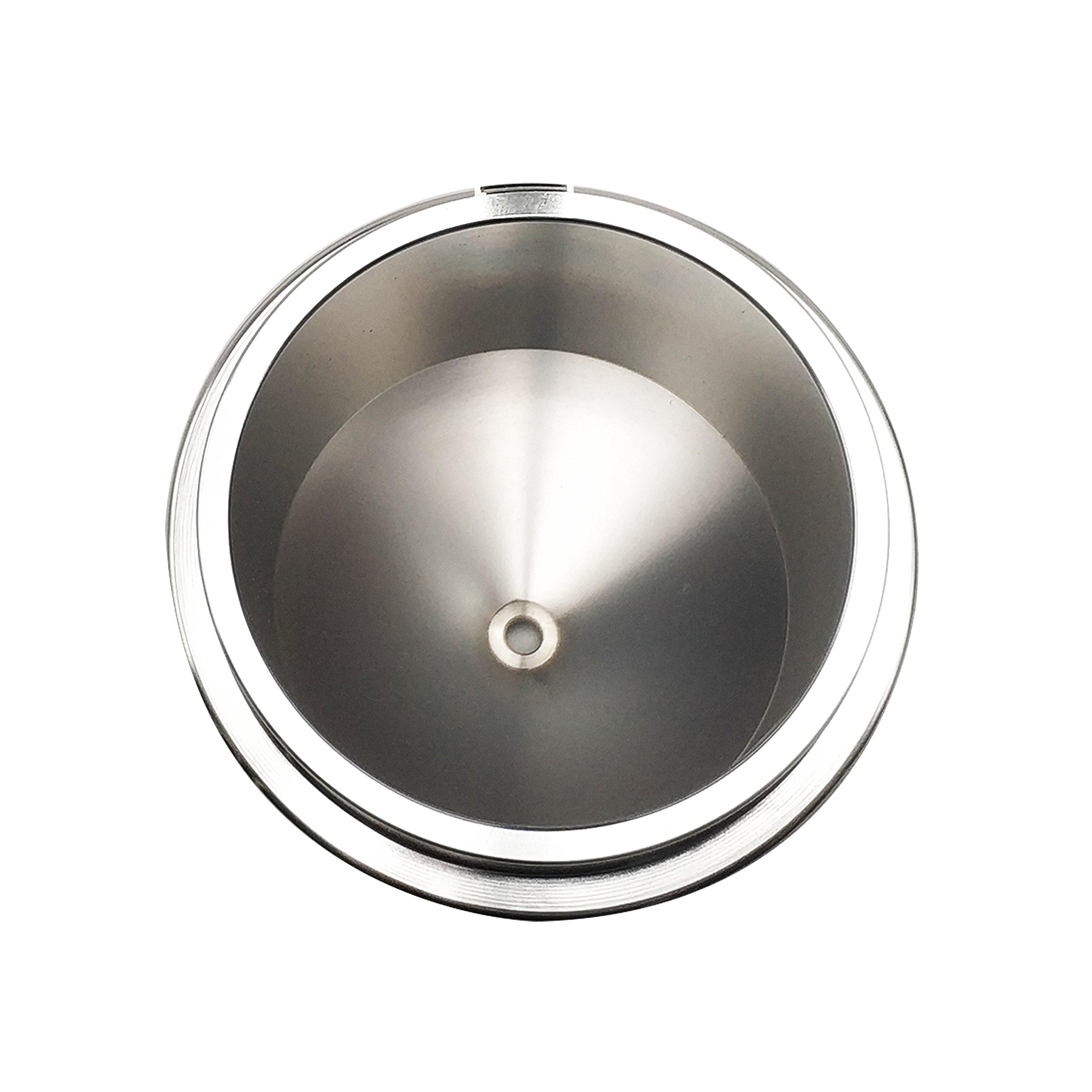 BAOSHISHAN PUSHEN Viscosity Cup 4mm Portable Aluminum DIN Immersion Viscosity Measuring Cup Din 4 Viscosity Cup According to DIN 53 211 by BAOSHISHAN