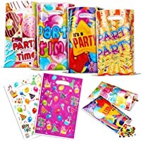 Verjaardagstassen voor kinderen(60 stuks), Feesttassen, Kleine tassen Cadeauzakjes, Ideaal geschikt voor Verjaardag voor…