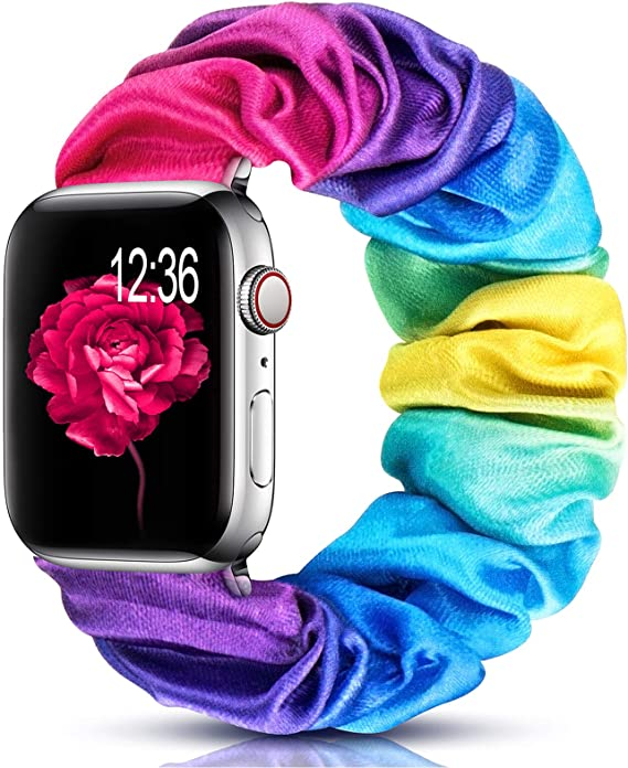 Cute Compatible with Apple Watch Band Scrunchie