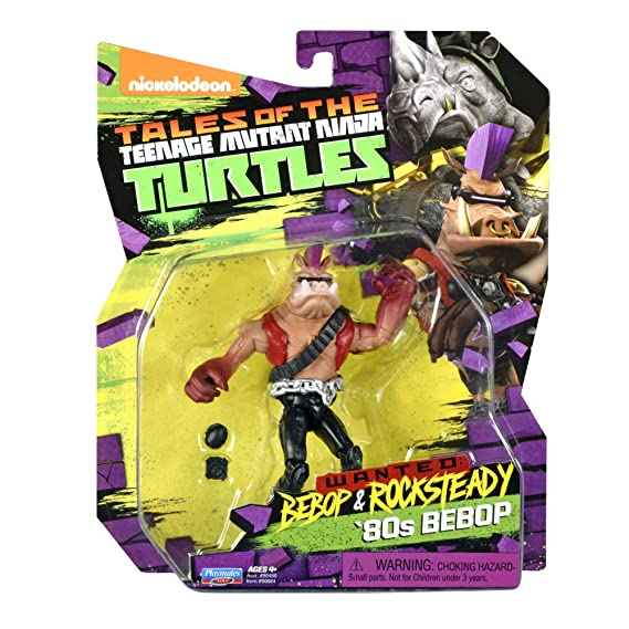 Amazon.com: Teenage Mutant Ninja Turtles Bebop en el 80 ...