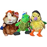 Ty Wonderpets Trio Kit (Turtle Tuck, Linny & Ming Ming)
