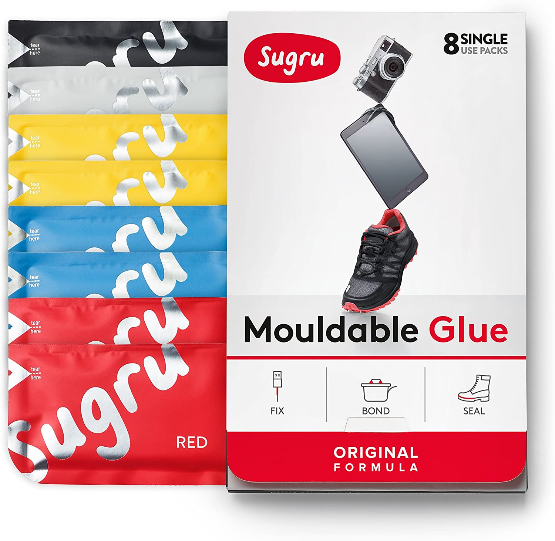Sugru Original - Pegamento Moldeable, Multicolor, 8 paquetes ...