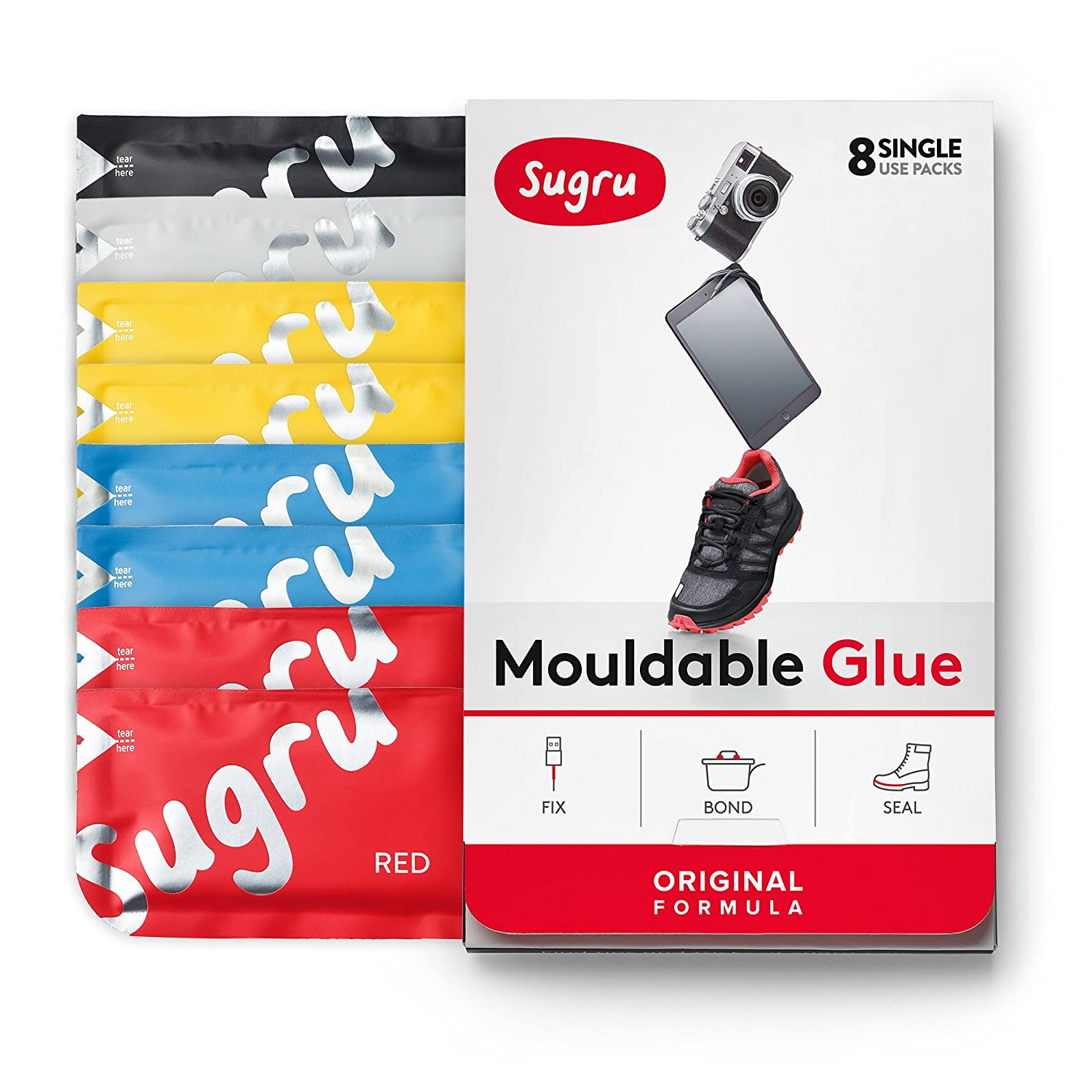 A Glue That Will Fix Everything - Sugru Moldable Glue .