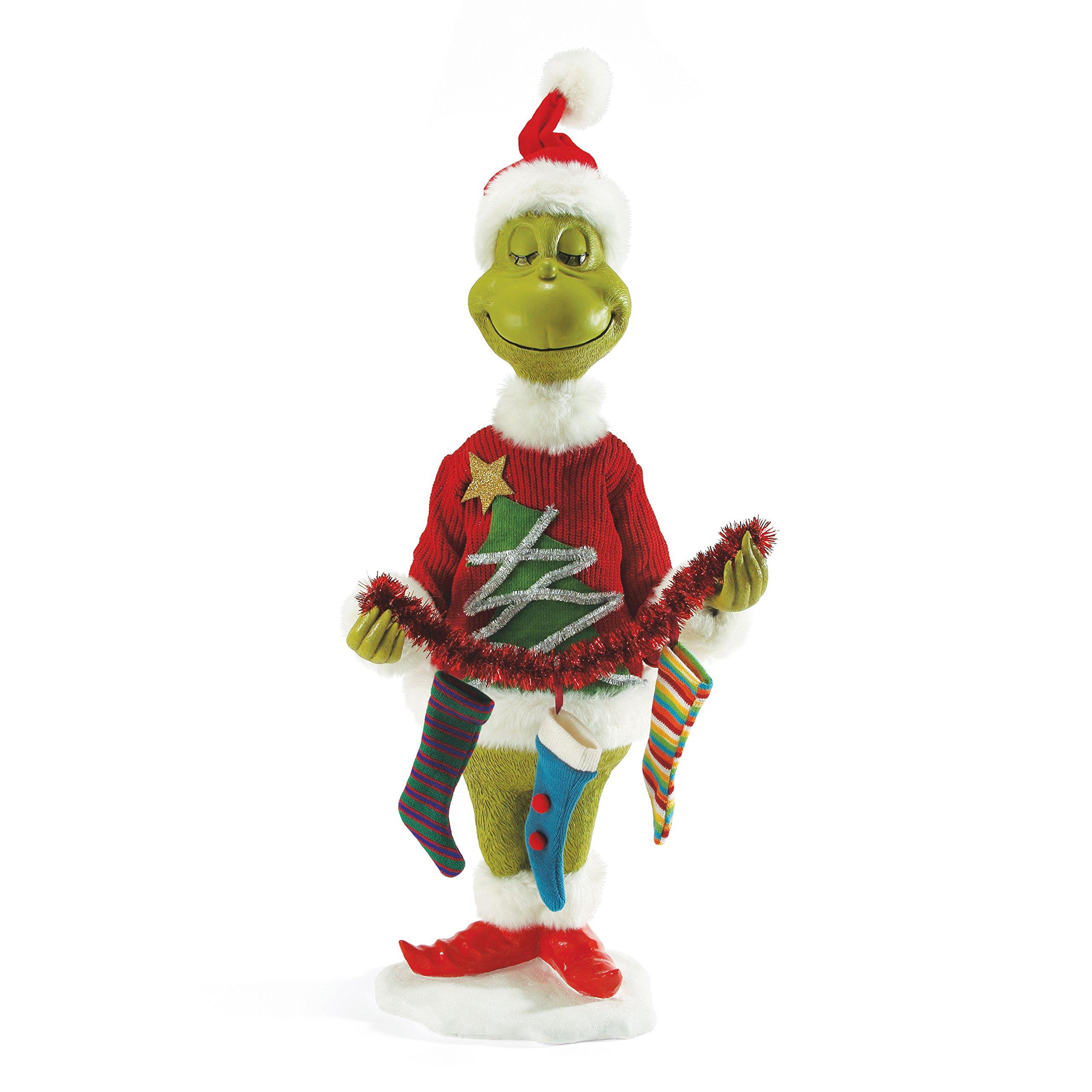 Department 56 Classics Mr. Grinch Figurine