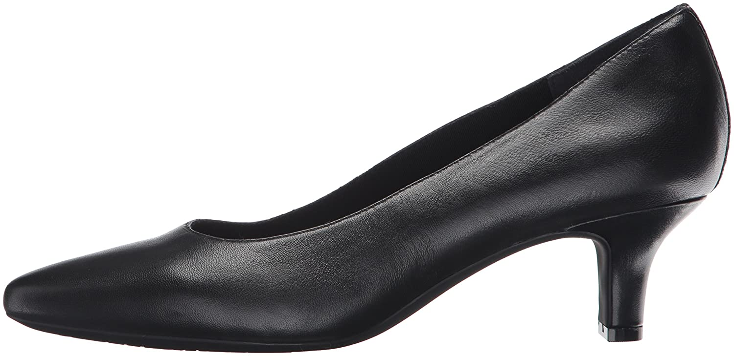 Rockport Women's Kimly Kirsie Dress Pump B01D3NREJK 8 W US|Black Smooth