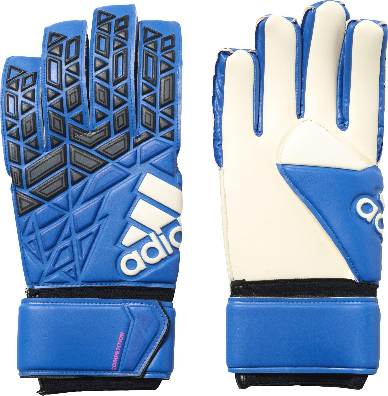 adidas Ace Competition - Guantes de Portero para Hombre, Azul (Blue/Core Black/White/Shock Pink s16), 8 AZ3686