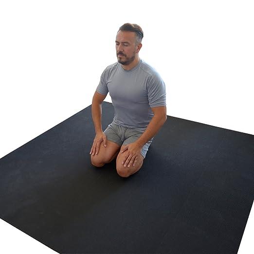 WideMat Esterilla de Yoga Pro Eco 153X183 cm. Antideslizante ...