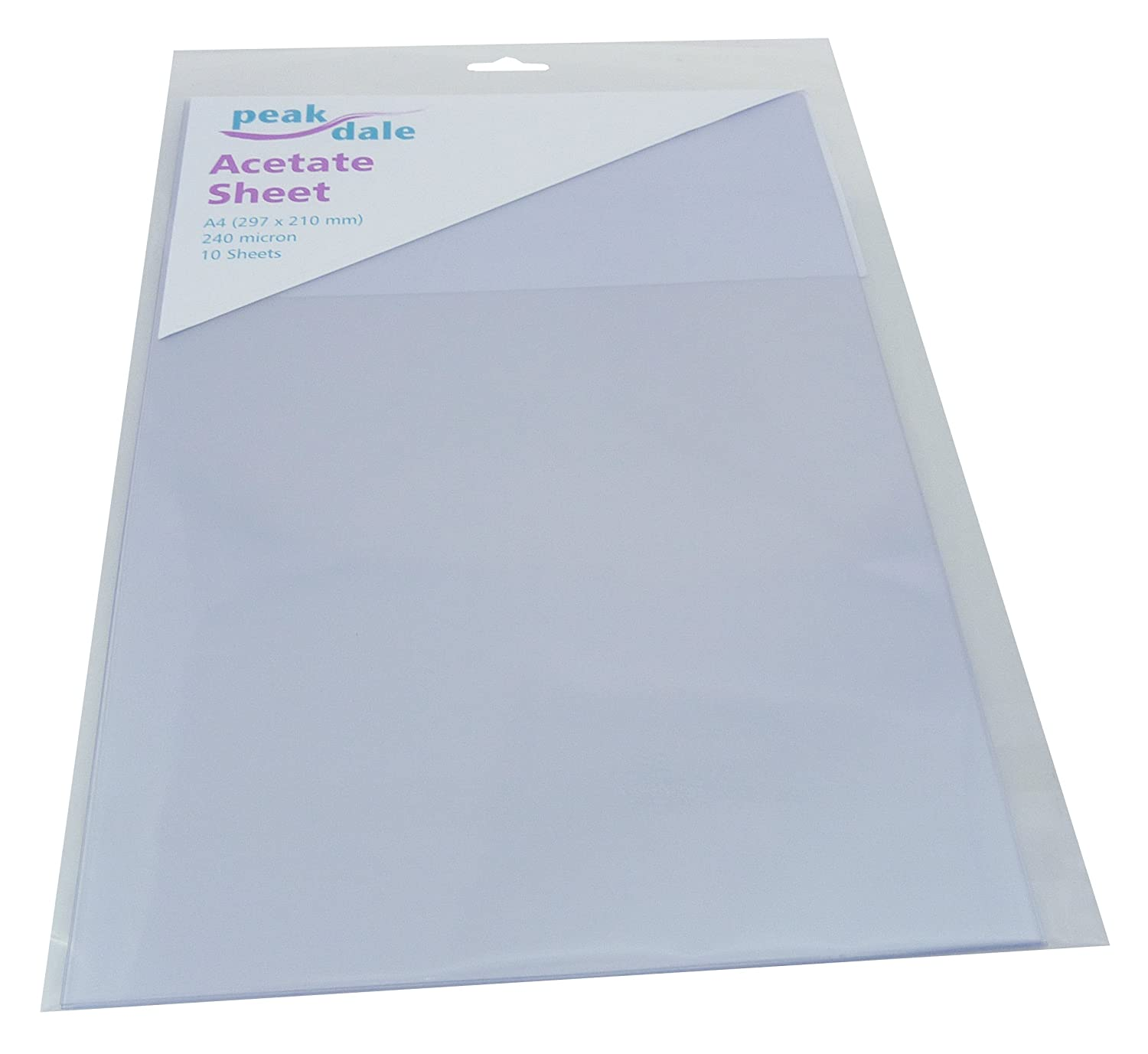 180 micron 297mm x 420mm 11.7 x 16.5 50 A3 Clear Acetate//Plastic Sheets
