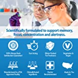 Excelerol Brain Supplement and Memory Support Pills 30 Capsules