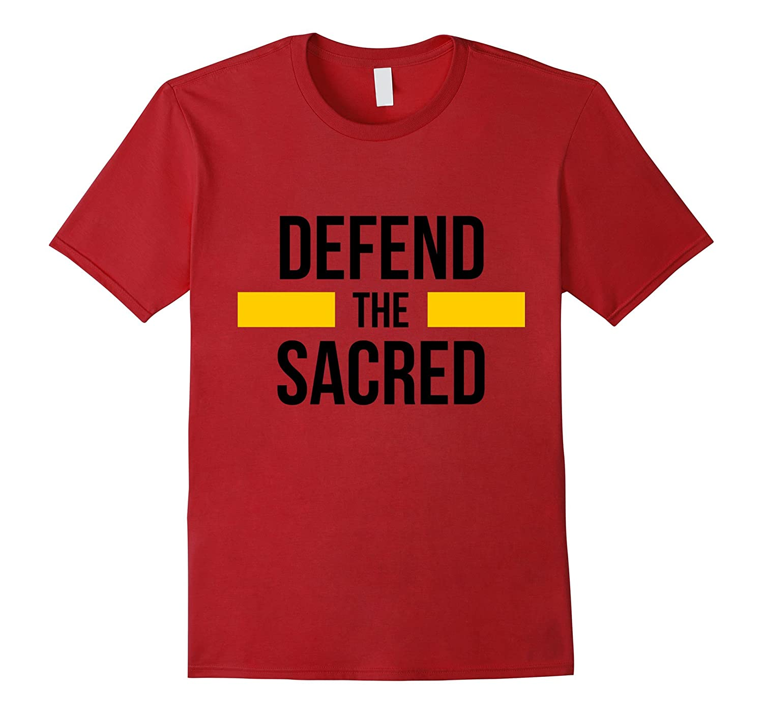 Defend The Sacred Water At Standing Rock T Shirt-RT