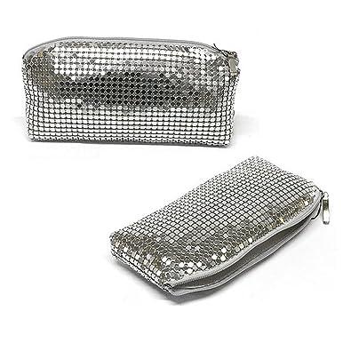 Luigi - W219sil, Monederos Mujer, Plateado (Silver), 2x10x18 ...