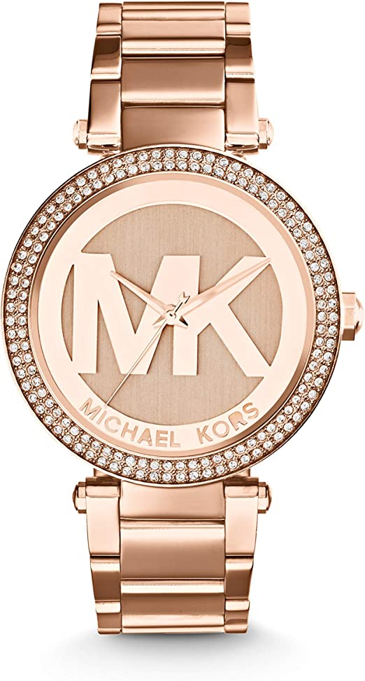 Amazon Com Michael Kors Women S Parker Rose Gold Tone Watch Mk5865 Michael Kors Watches