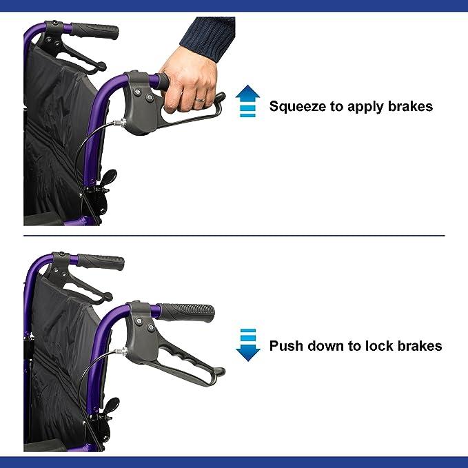 Days Escape Lite Aluminium Wheelchair image 5