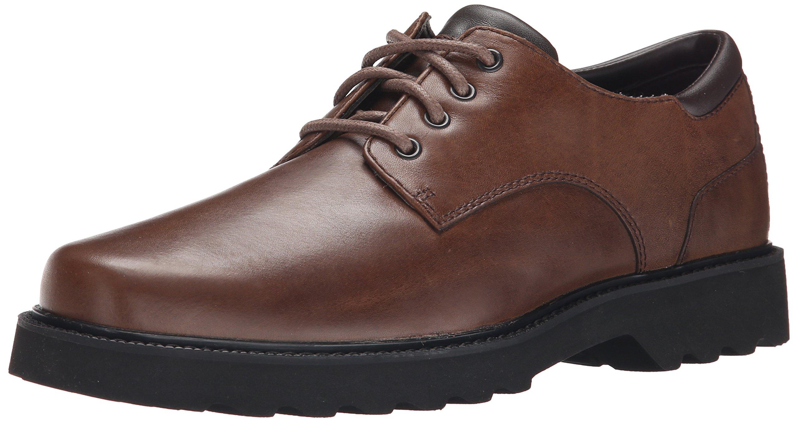 Rockport Men's Northfield Oxford-Dark Brown-6.5 W by Rockport