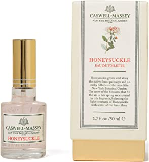 product image for Caswell-Massey New York Botanical Garden Honeysuckle Eau De Toilette Perfume Spray – Floral Fragrance for Women, Made in USA – 1.7 Ounces