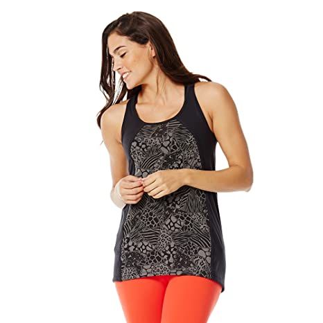 eb1a598d8c4212 Image Unavailable. Image not available for. Color  Zumba Women s Fashion  Design Loose Breathable Workout Tank Top ...