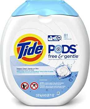 Tide PODS Free & Gentle Detergent