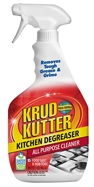 Amazon.com: Krud Kutter 305373 Kitchen Degreaser All-Purpose Cleaner, 32  oz: Home & Kitchen
