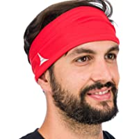 French Fitness Revolution Mens Headband - Guys Sweatband & Sports Headband for Running, Crossfit, Working Out and…