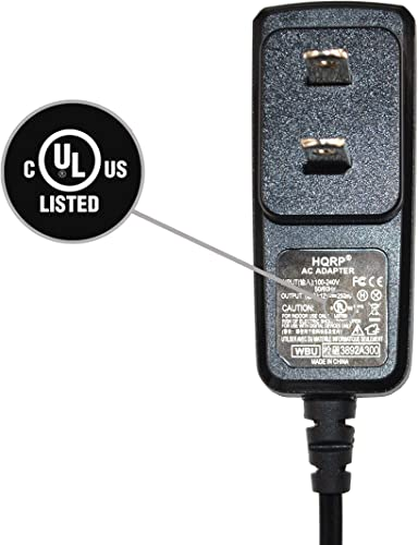 HQRP Battery Charger AC Adapter Compatible with SportDOG SportHunter 800 SD-800 SDT30-11223, Sport-Hunter 1800 SD-1800 ST-120 Dog Training Collar Receiver Transmitter UL Listed Euro Plug Adapter