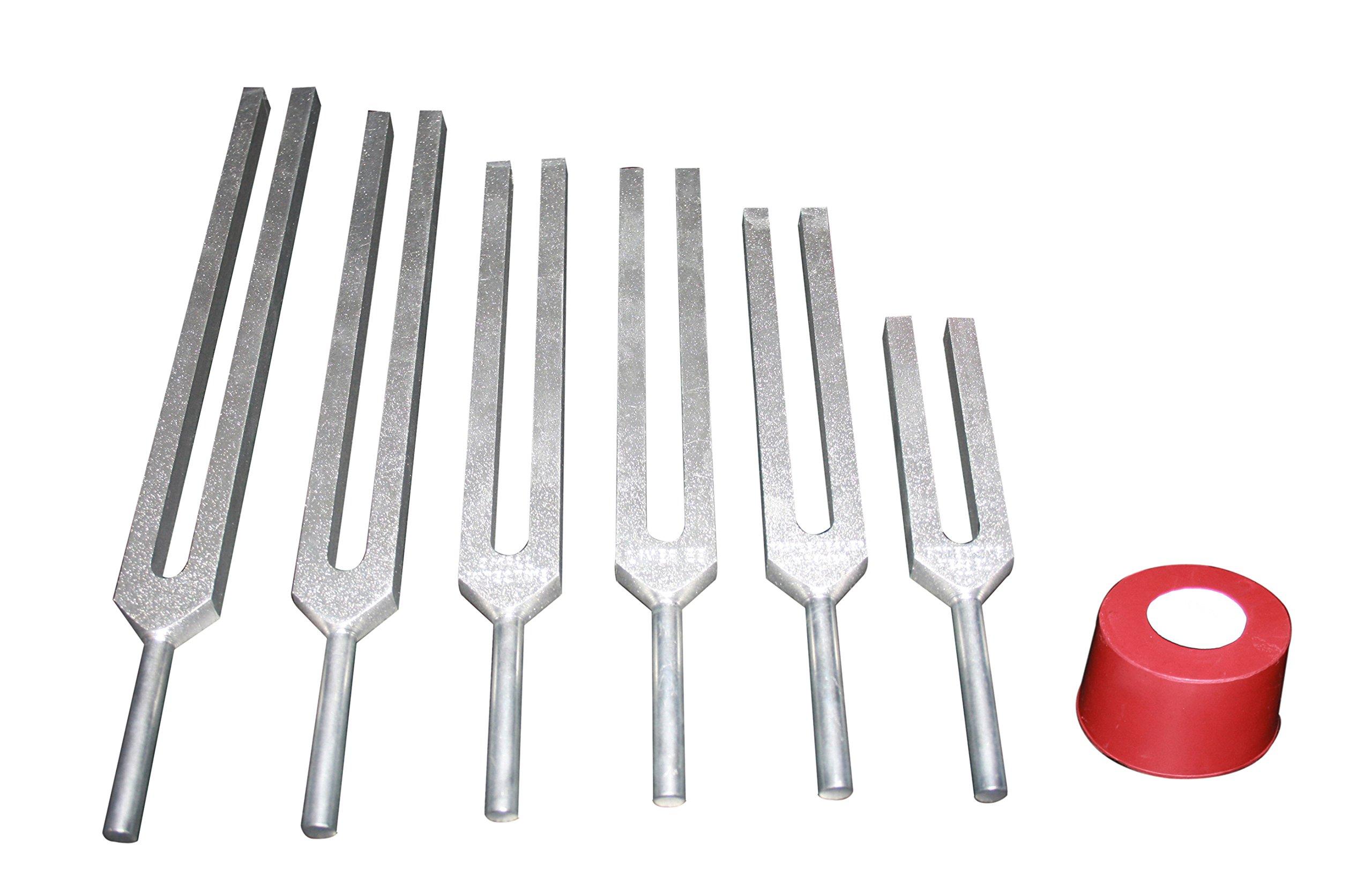 Radical Sacred Solfeggio 6pc Tuning Forks - DNA Repair - Blessings Miracles Awakening Liberation