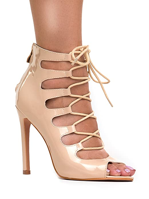 Lace up High Heel