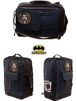 2in1 Deluxe DC Comics Batman Joker Goon Licensed Backpack Messenger School Bag
