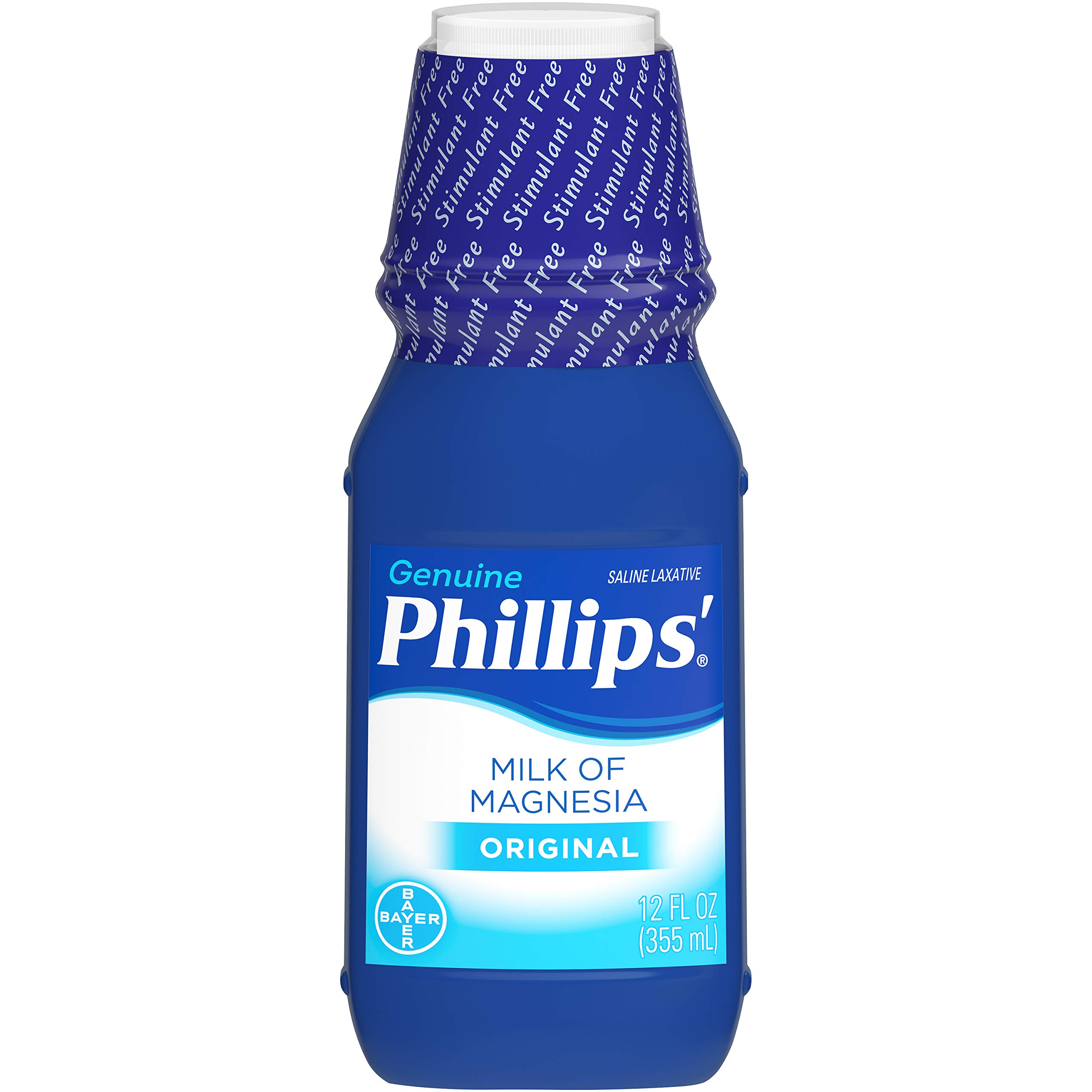 349928 Laxative Phillips Milk Of Magnesia Liquid 12oz Original Bt by Bayer Consumer Products -Part no. 349928