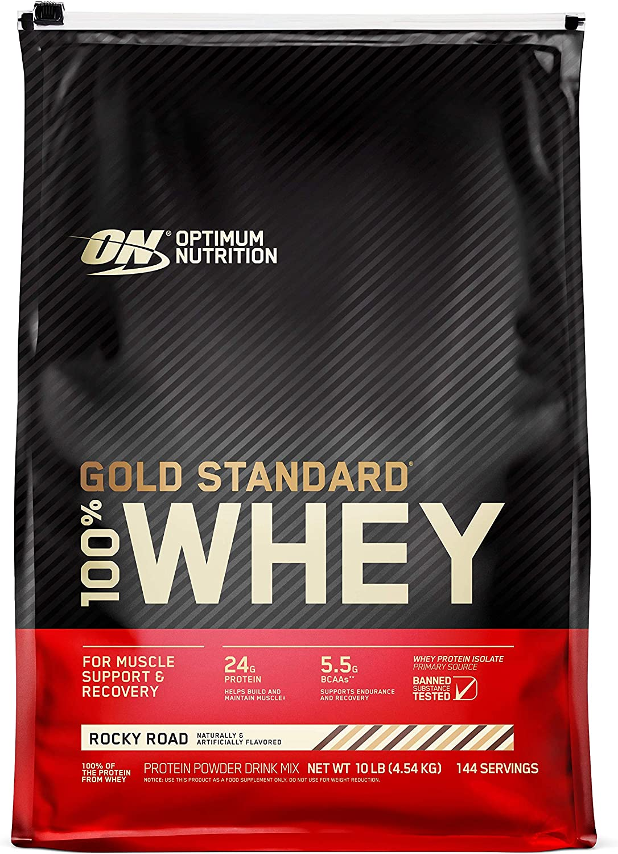 Optimum nutrition 100% whey gold standard, 4545gr / 10lb