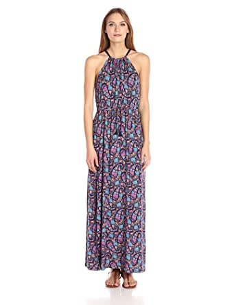 f1eaf8bdbf66 Lucky Brand Women's Party Paisley Maxi Dress at Amazon Women's ...