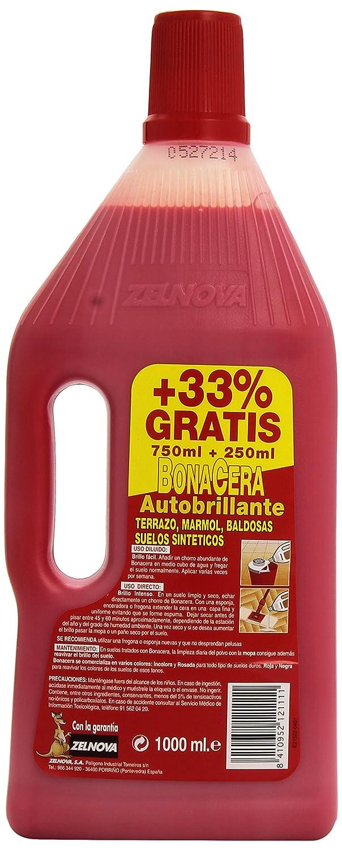 BonaCera - Cera autobrillante - Roja, antideslizante - 1000 ...