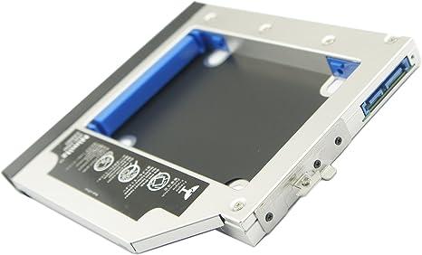 SATA 2nd Hard Drive HDD SSD caddy for HP EliteBook 8440p 8530p 8540p 8440w 8530w