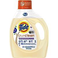Tide Purclean HE Liquid Laundry Detergent, Honey Lavender Scent, 2.21 L (48 Loads)