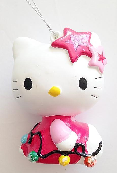 Hello Kitty Christmas Tree.Amazon Com Christmas Tree Ornament Hello Kitty Designed By