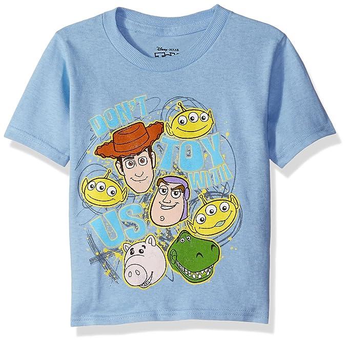 Amazon Com Disney Toddler Boys Toy Story T Shirt Clothing