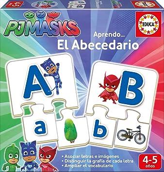 PJ Masks Juego El abecedario (Educa Borrás 17251): Amazon.es ...