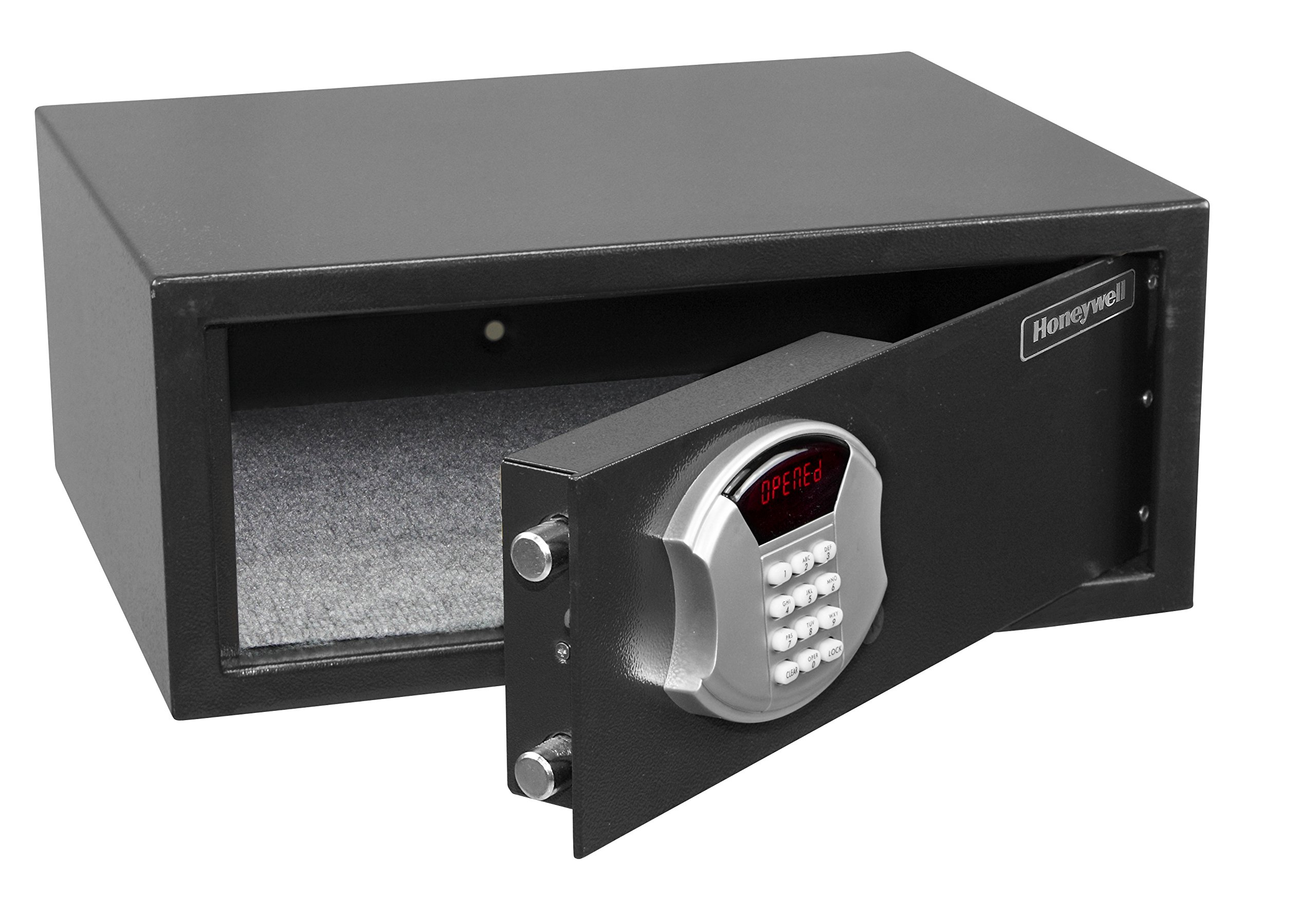 Honeywell 5105DS Low Profile Steel Security Safe with Hotel-Style Digital Lock, 1.10-Cubic Feet, Black by Honeywell Safes & Door Locks (Image #7)