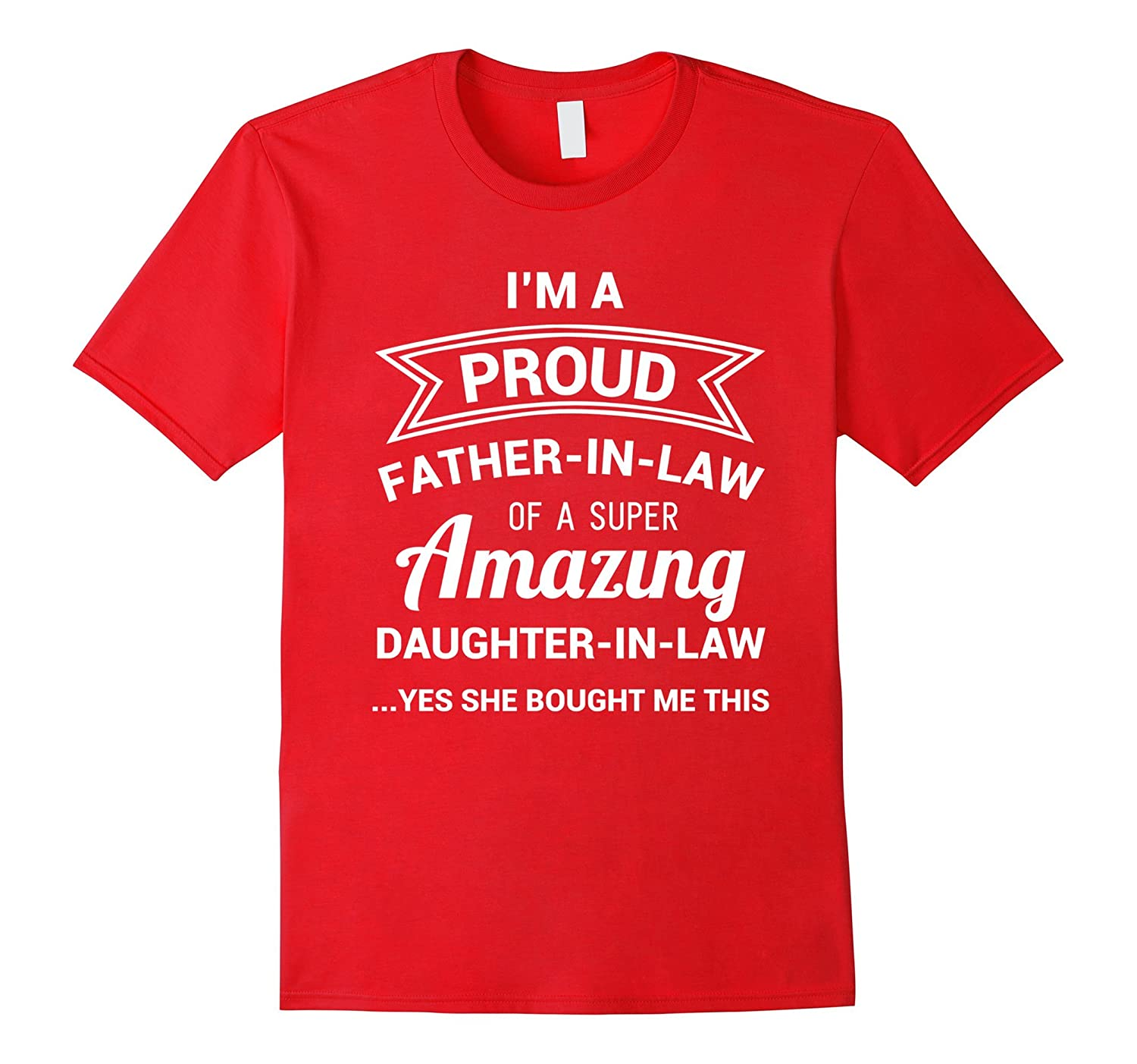 Funny Proud Father Shirt Fathers-Veotee