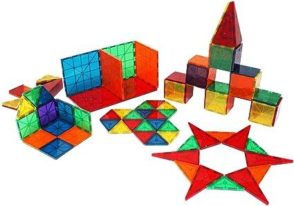 12fd972ff4e Amazon.com  Metro Mags Clear Colors 100 Piece Set  Toys   Games