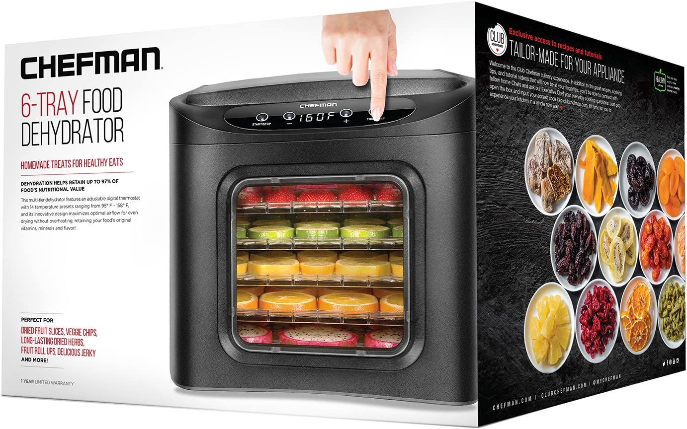 chefman-6-tray-food-drying-machine