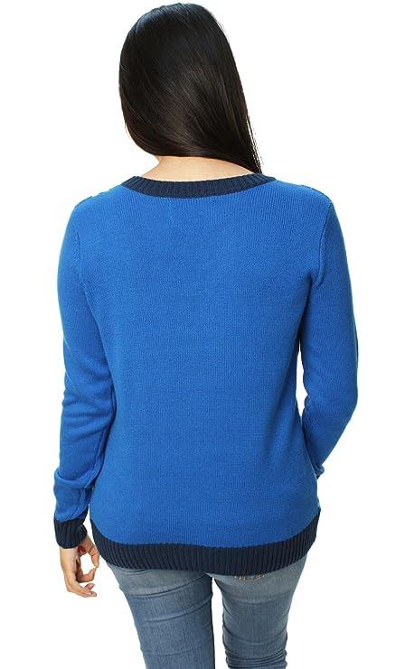84de00cb1 Amazon.com  Ugly Christmas Sweater Womens Come On Baby Light My ...