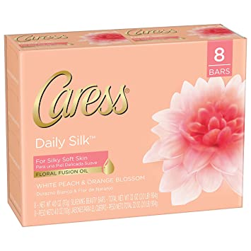 Caress Moisturizing Beauty Bar, Daily Silk