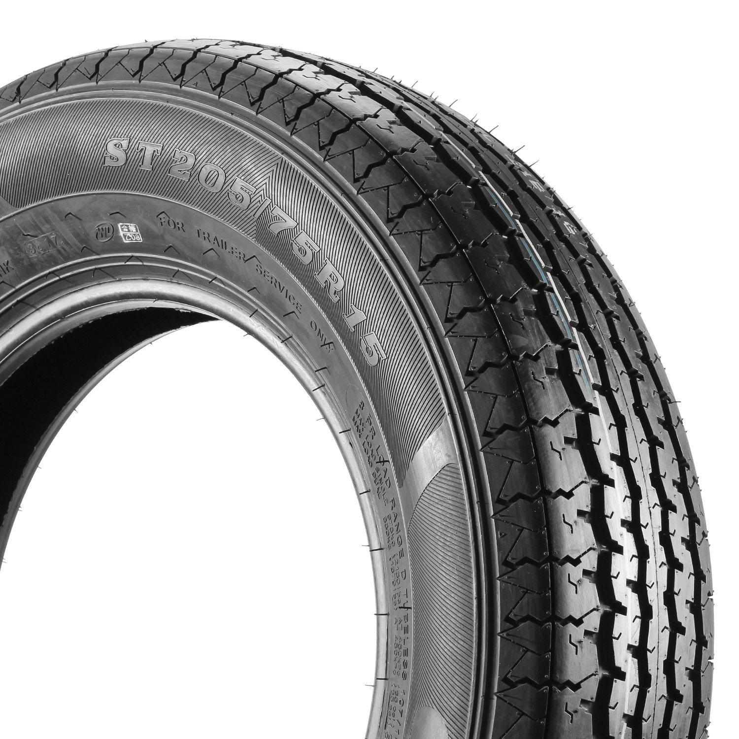 MaxAuto Radial Trailer Tires - ST205/75R15 ST205/75R-15 2057515 8Ply(Pack of 4) by MaxAuto (Image #3)