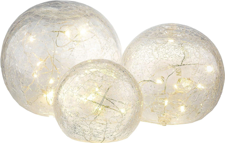 Gadgy Crackle Glaskugeln Lichter ø 8 10 12 Cm Kugellampe